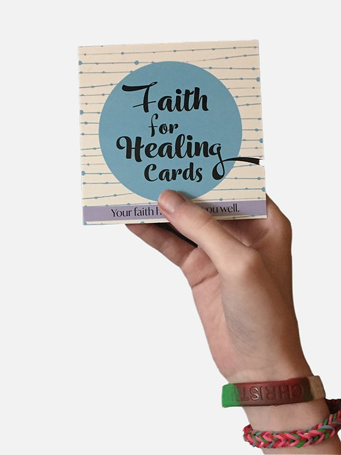 Faith for Healing Scripture Cards