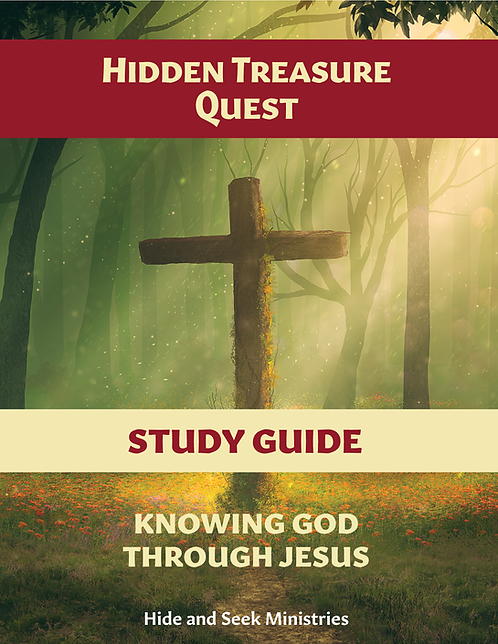 Hidden Treasure Quest: Knowing God Through Jesus Study Guide