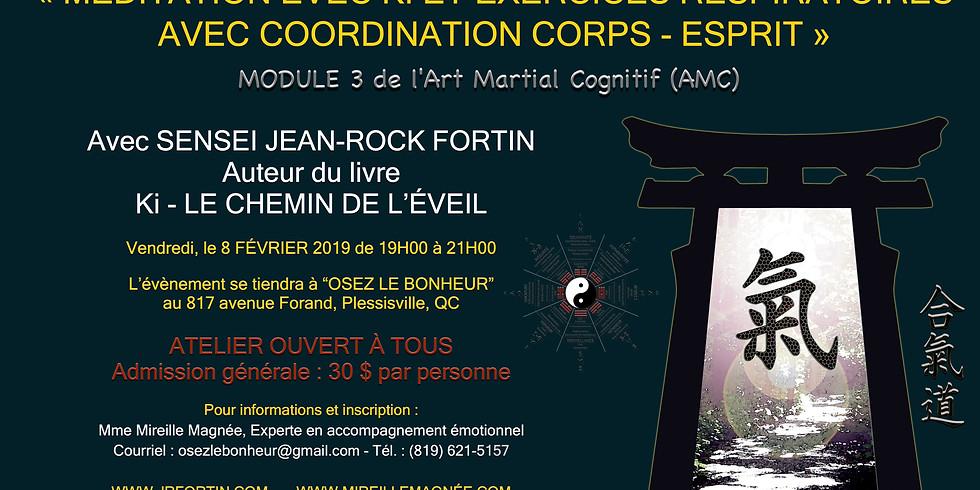 Initiation à la coordination Corps-Ésprit (module 3)