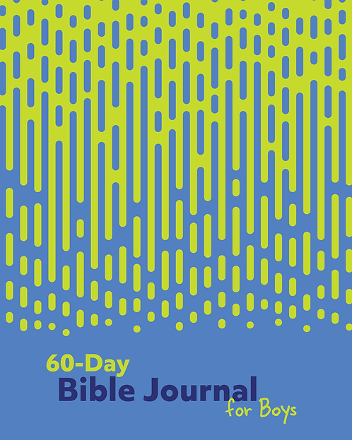60-Day Bible Journal for Boys