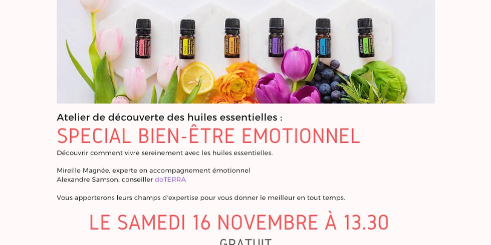 Votre bien-être émotionnel et les huiles essentielles