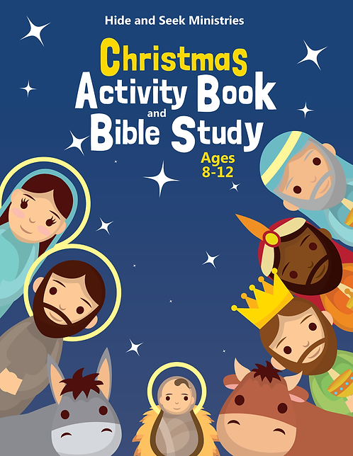 Christmas Activity Book and Bible Study (Ages 8-12)