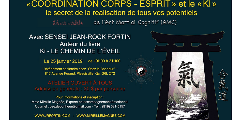 Initiation à la coordination Corps-Ésprit (module 2)