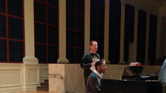 Working with composer Lowell Liebermann