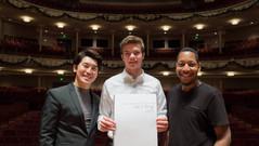 Rehearsal with Cincinnati Symphony Orchestra!