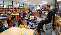 Visiting Students of Whitaker Elementary, Cincinnati, OH