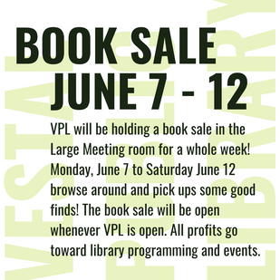 Book Sale Starts Today!