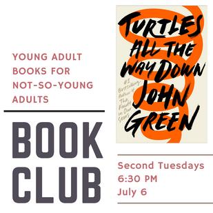 YA Book Club Pick!