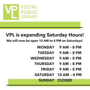 Expanded Saturday Hours
