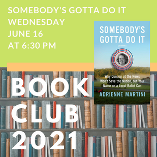 Book Club Pick for June is Somebody's Gotta Do It
