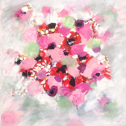 Summertime Blooms - SOLD