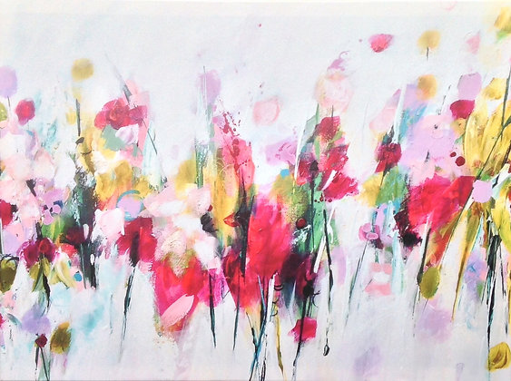 Call It Spring -Original Print  -  80cm x 60cm x 2cm