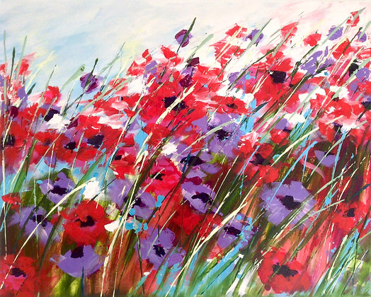 Poppy Rouge  -  SOLD