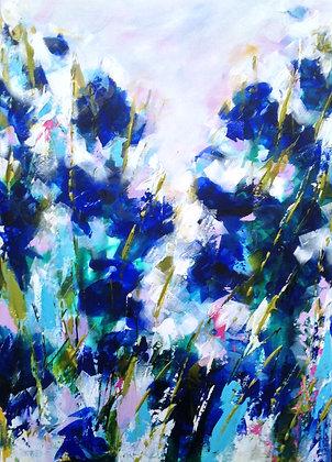 Blue Iris - Sold