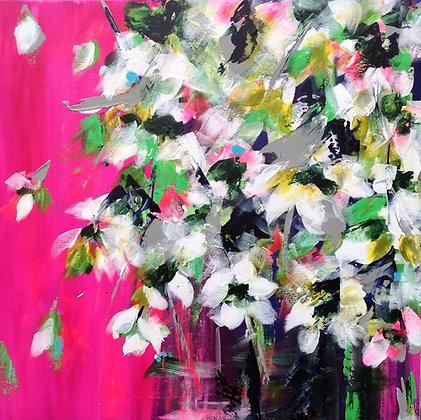 Spring Magnolias - Pink   -   SOLD