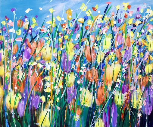 Bountiful Blooms - Sold