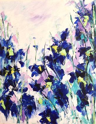 Iris Blue  -  SOLD