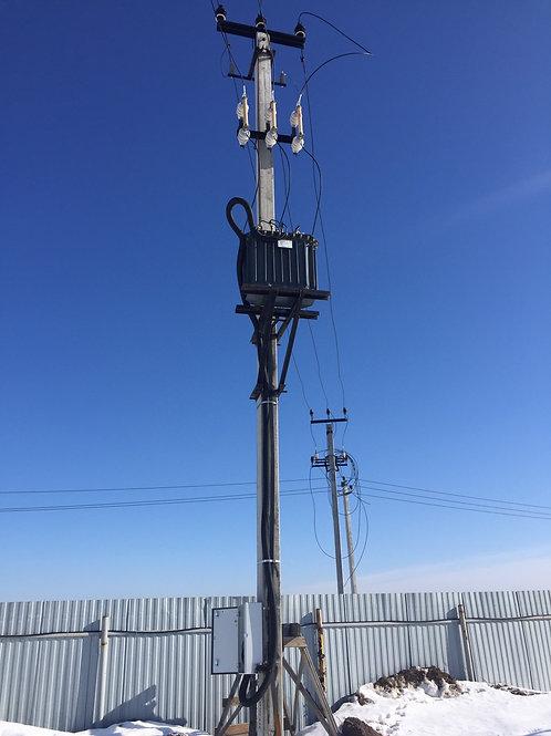 Строительство трансформаторной подстанции столбовой СТП