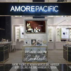 COCKTAIL @ AMORE PACIFIC AT  NEIMAN MARCUS BAL HARBOUR