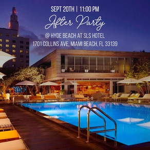 AFTER PARTY @ HYDE BEACH at SLS HOTEL