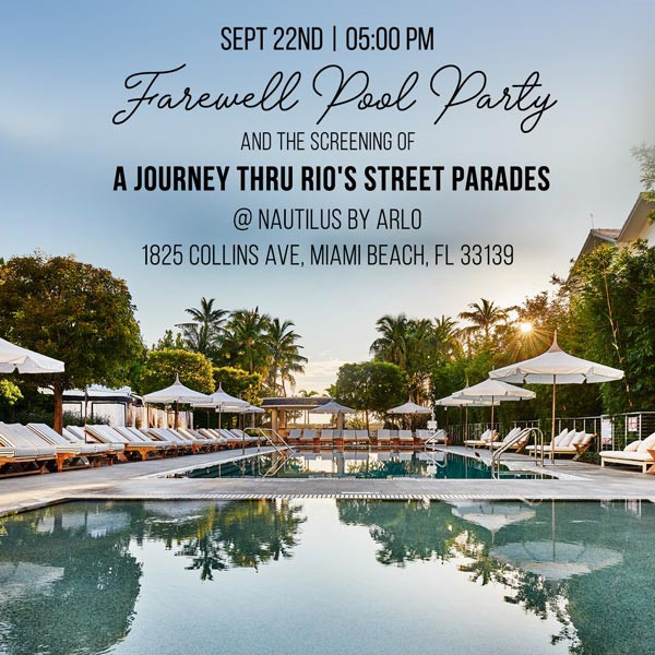 FAREWELL POOL PARTY AND SCREENING