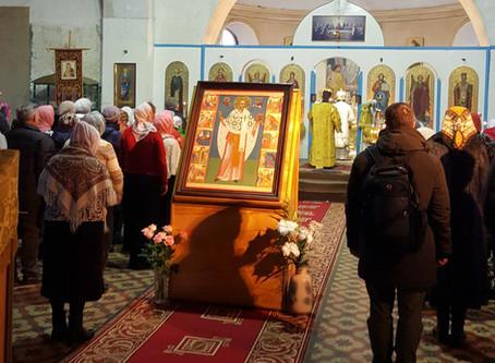В храмах епархии встретили праздник Николая Чудотворца