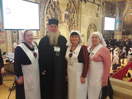 Делегация епархии приняла участие в VIII Общецерковном съезде по социальному служению в Москве