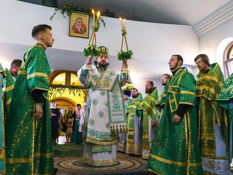 В Духов день состоялось юбилейное собрание клира и мирян епархии