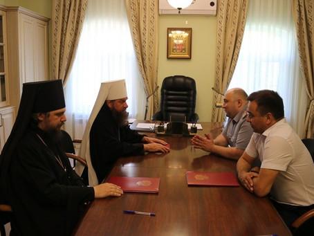 Астраханская митрополия и региональное УФСИН подписали соглашение о духовном воспитании