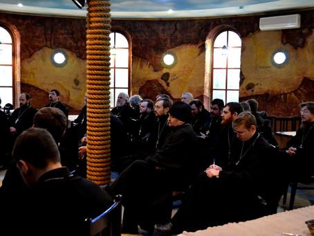 Проведена весенняя сессия курсов повышения квалификации для клириков