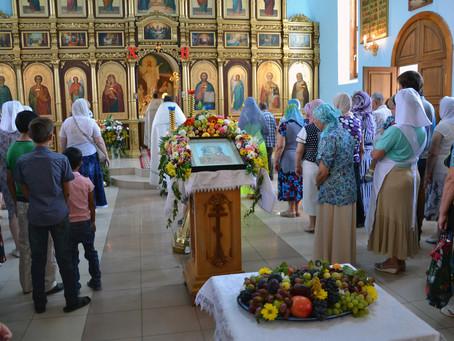В епархии встретили праздник Преображения Господня