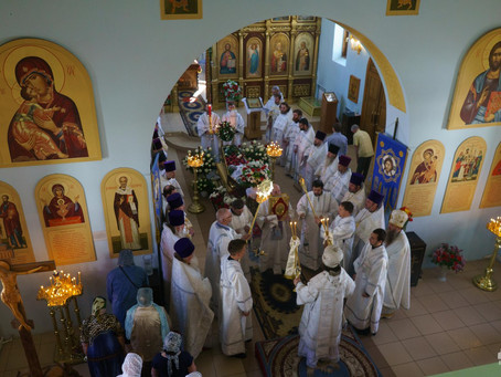Ахтубинская епархия простилась с матушкой Еленой Гречко