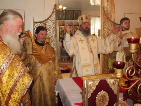 В Цаган - Амане почтили память преподобного Петра, царевича Ордынского