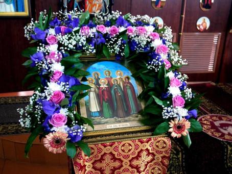 В епархии встретили Неделю святых Жен-Мироносиц