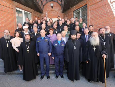 Владыка Антоний принял участие в VIII Учебно-методических сборах военного духовенства