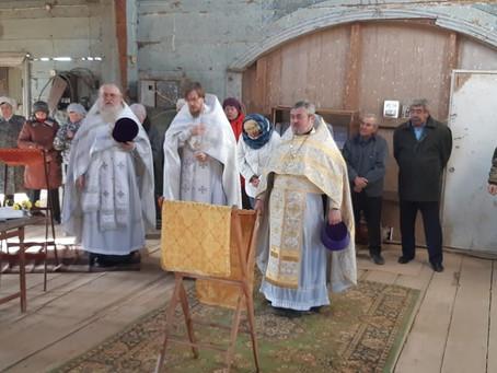 Престольный праздник встретили во Владимировке