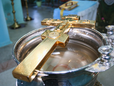 В храмах епархии встретили праздник Крещения Господня