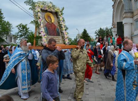 """В с. Никольское отметили праздник иконы """"Нерушимая Стена"""""""