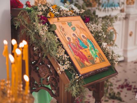 В Духов день проведено традиционное епархиальное собрание