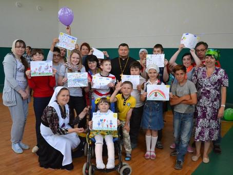 Праздник счастливого детства состоялся в Духовно-просветительском центре