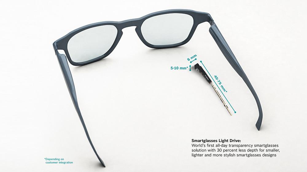 Óculos inteligente da Bosch projeta imagens na retina do usuário