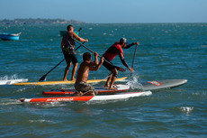 MUI NE Bay Downwind 9.5 Race на surf4you