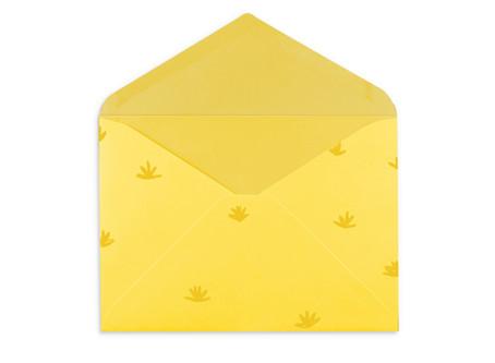 """Gelber Brief """"Osterferien"""""""