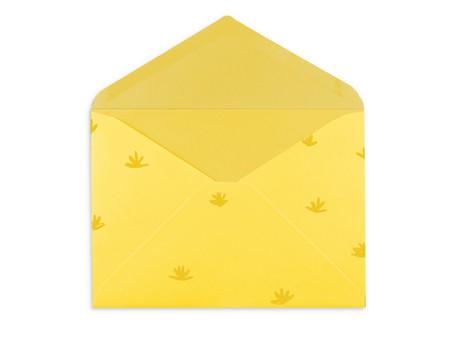 """Gelber Brief """"Sommerferien"""""""