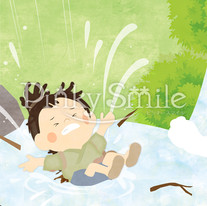 Maria@home様 絵本制作「養老の滝」