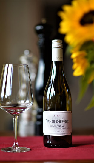 Danie de Wet – Chardonnay unwooded