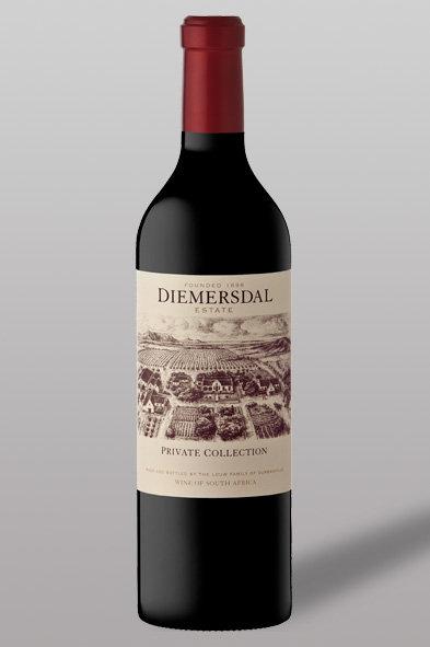 Cabernet Sauvignon - Merlot – Malbec – Diemersdal – Südafrika – Rotwein – Private Collection - Steak