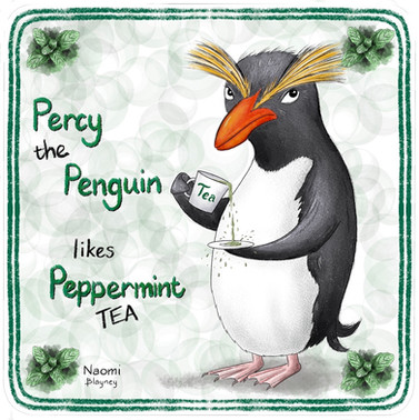 Percy The Penguin Memory Game Card