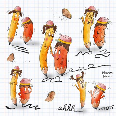 Pencil Expressions