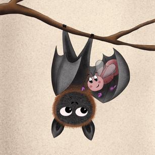 Cuddly Bat